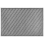 Weather Guard™ 30-Inch x 45-Inch Argyle Door Mat in Medium Grey