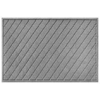 Weather Guard™ 30-Inch x 45-Inch Argyle Door Mat in Medium Grey