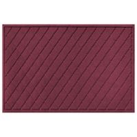 Weather Guard™ 30-Inch x 45-Inch Argyle Door Mat in Bordeaux