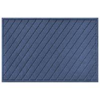 Weather Guard™ 30-Inch x 45-Inch Argyle Door Mat in Navy