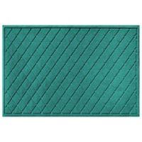 Weather Guard™ 30-Inch x 45-Inch Argyle Door Mat in Aquamarine
