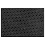 Weather Guard™ 30-Inch x 45-Inch Argyle Door Mat in Charcoal