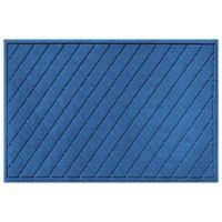 Weather Guard™ 30-Inch x 45-Inch Argyle Door Mat in Medium Blue