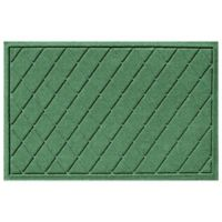 Weather Guard™ 23-Inch x 35-Inch Argyle Door Mat in Light Green