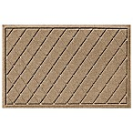 Weather Guard™ 23-Inch x 35-Inch Argyle Door Mat in Camel