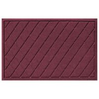 Weather Guard™ 23-Inch x 35-Inch Argyle Door Mat in Bordeaux