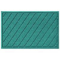 Weather Guard™ 23-Inch x 35-Inch Argyle Door Mat in Aquamarine