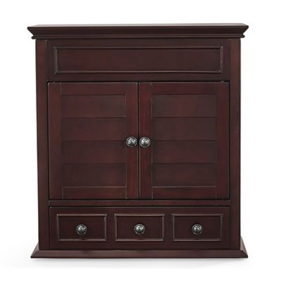 crosley lydia medicine cabinet in espresso - Bathroom Cabinets Bed Bath And Beyond