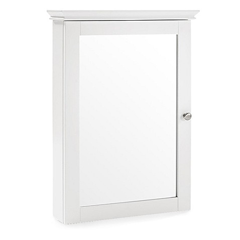 bed bath and beyond bathroom wall cabinet crosley lydia mirrored wall cabinet bed bath amp beyond 11944