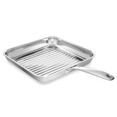 Buy Stainless Steel Grill Pan From Bed Bath Amp Beyond