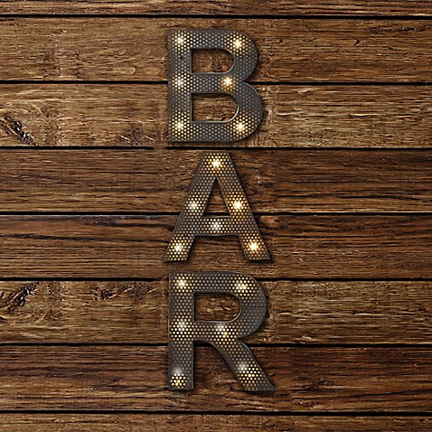 Bar Led Marquee Sign