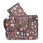 LeSportsac® Zoo Buddies Diaper Bag in Brown