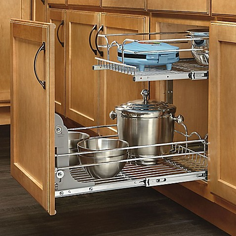 kitchen cabinet shelf replacement rev a shelf 174 2 tier wire baskets bed bath amp beyond 5756