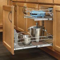 Rev-A-Shelf® 9-Inch x 18-Inch 2-Tier Wire Baskets