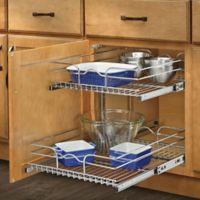 Rev-A-Shelf® 18-Inch x 22-Inch 2-Tier Wire Baskets