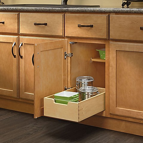 pull out drawers kitchen cabinets rev a shelf 174 base cabinet pull out drawer bed bath amp beyond 24980