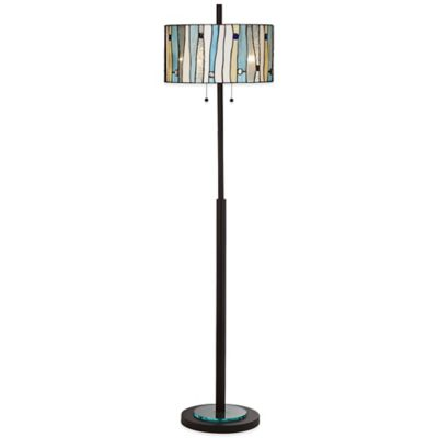 Buy Kathy Ireland Home Velocity Floor Lamp From Bed Bath Amp Beyond