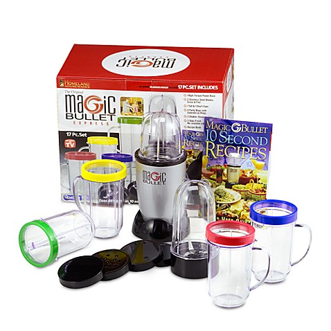 The Original Magic Bullet Express Blender And Mixer System Bed Bath