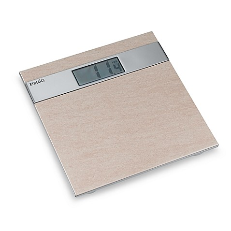 Homedics 174 Thin Profile Ceramic Tile Digital Scale Bed
