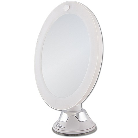 Zadro™ 10x Cordless LED Lighted Wall Mount Mirror - Bed ...