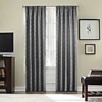 Athena Rod Pocket  Room  Darkening 84-Inch Window Curtain Panel in Grey