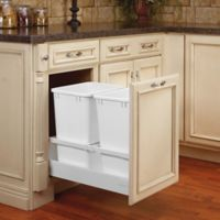 Rev-A-Shelf® 15-Inch Tandem Double 35 Quart Pull-Out Waste Container
