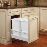 Rev-A-Shelf® Servo Double 35 qt. Pull-Out Waste Container