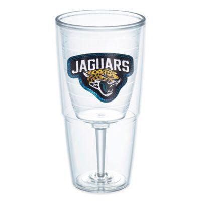 Jacksonville Jaguars 16oz. Stemless Wine Glass
