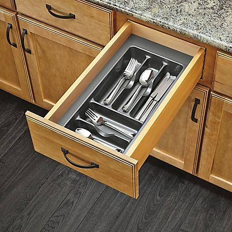 Rev A Shelf 174 Glossy Cutlery Organizer Bed Bath Amp Beyond