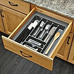 Rev-A-Shelf - GCT-3S-52 - Large Glossy Silver Cutlery Tray Drawer Insert