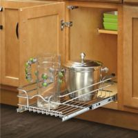 Rev-A-Shelf® 12-Inch x 22-Inch Single Tier Pull-Out Wire Basket