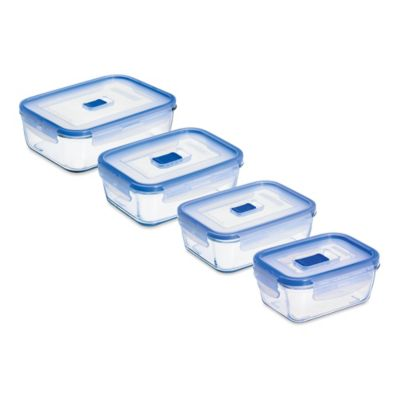 Luminarc Pure Box Active Rectangular Container with Lid Bed Bath