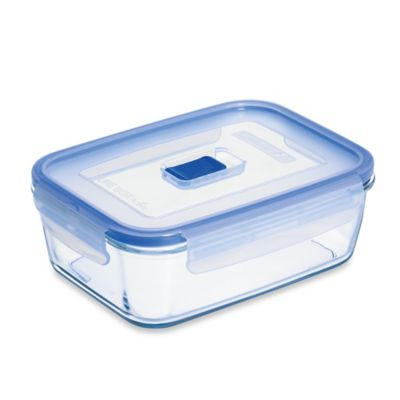 luminarc pure box active 277 oz rectangular container with lid