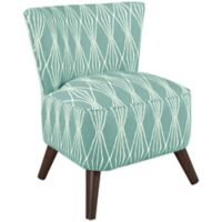 Skyline Furniture Contemporary Chair in Handcut Shapes Rain