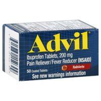 Advil 50-Count 200 mg Tablets