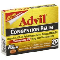 Advil Congestion Relief 20-Count Tablets