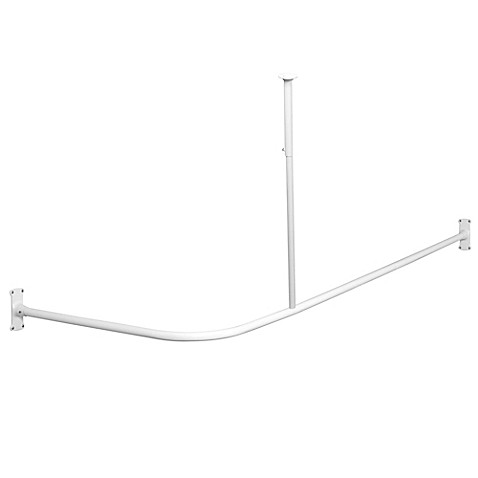 NeverRust™ L-Shaped Corner Shower Rod - Bed Bath & Beyond