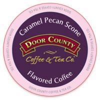 12-Count Door County Coffee & Tea Co.® Caramel Pecan Scone for Single Serve Coffee Makers
