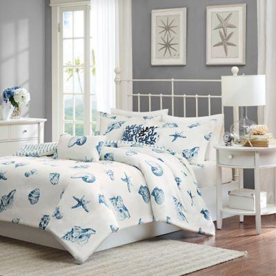 harbor house beach house queen comforter set in white - Harbor House Bedding