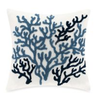 Harbor House™ Beach House Square Throw Pillow in White