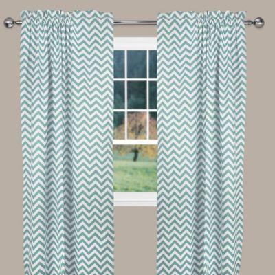 Curtains Ideas chevron curtains blue : Buy Chevron Curtain Panels from Bed Bath & Beyond