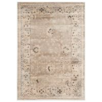 Safavieh Vintage Collection Mercedes 3-Foot 4-Inch x 4-Foot 7-Inch Floral Rug