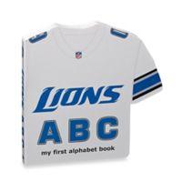 NFL Detroit Lions ABC: My First Alphabet Board Book