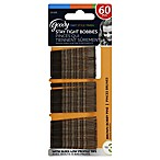 Goody® 60-Count Bobby Pins in Brown
