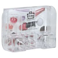 Caboodles Crystal Clear Large Tray With Compartments