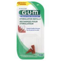GUM Stimulator 3-Count 6014 Refill Tip