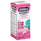 Benadryl Children's 4 oz. Allergy Liquid in Cherry Flavor