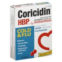 Coricidin® HBP 20-Count Cold & Flu Tablets