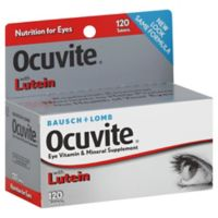 Bausch + Lomb Ocuvite Vitamin + Minerals 120-Tablets Supplement