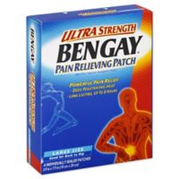 BENGAY® Ultra Strength 4-Count Large Pain Relieving Patch